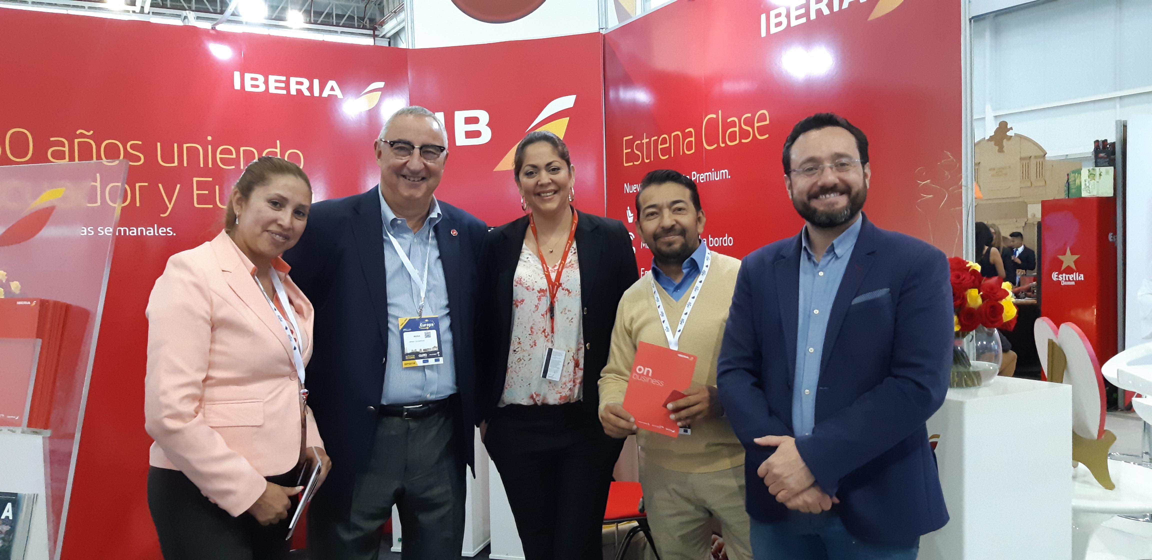 Estrechando relaciones, Iberia Ecuador y Bocalán Ecuador
