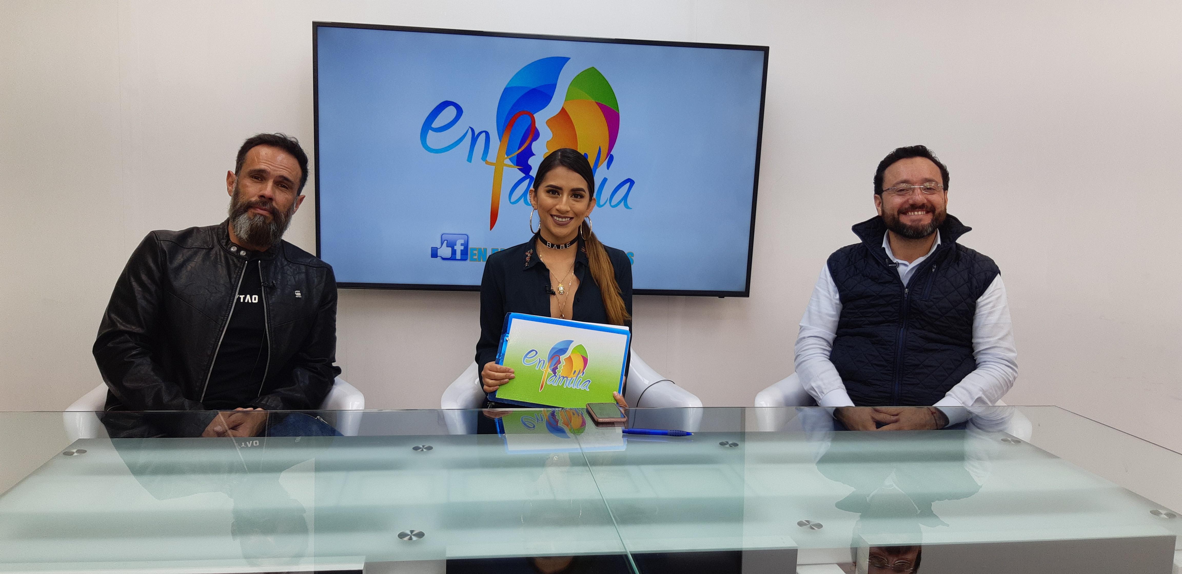 Entrevista en importante canal de televisión