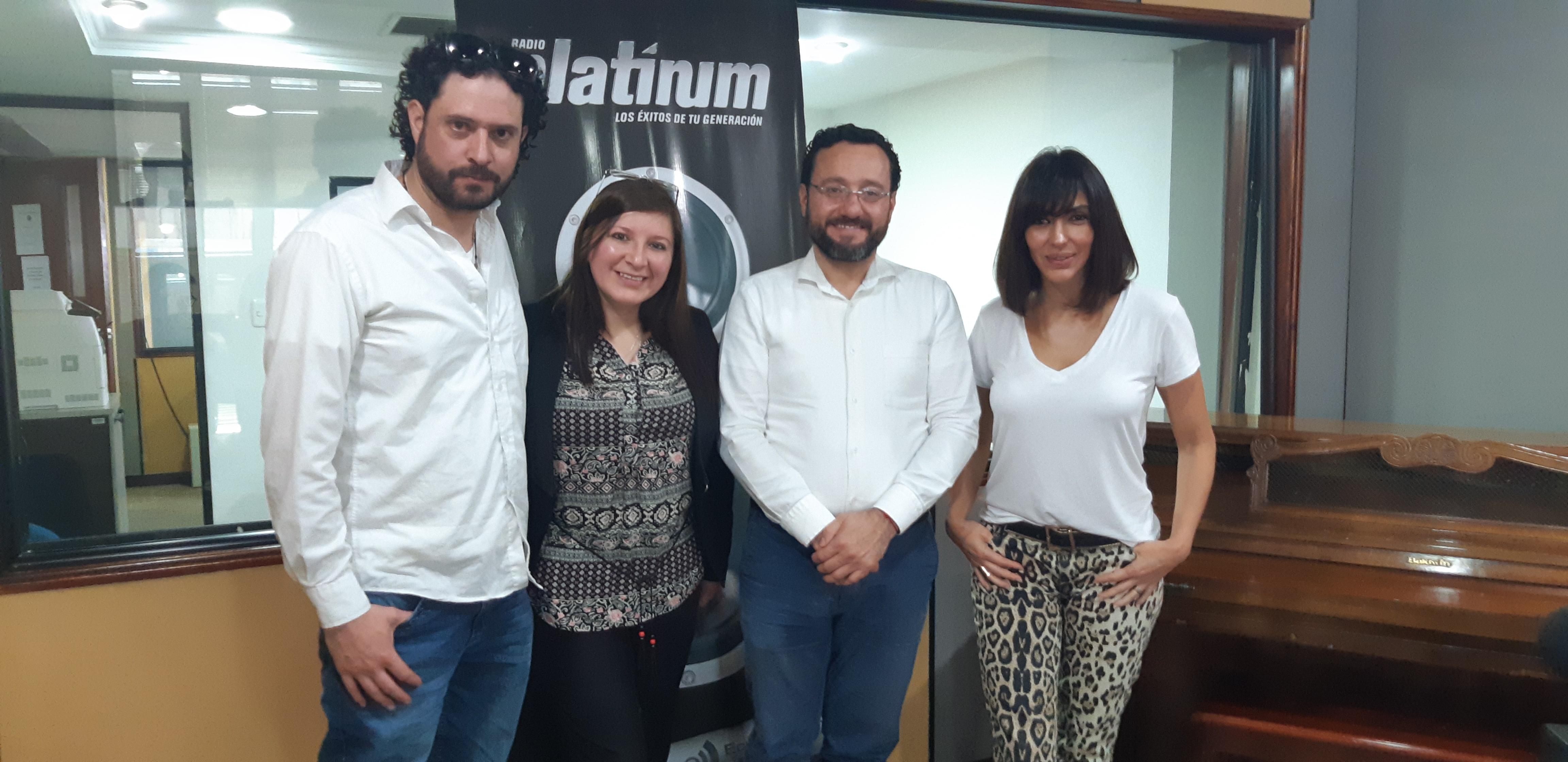 Excelente entrevista en importante medio radial de Quito