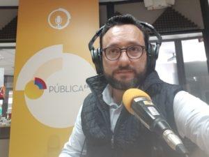 Entrevista Radial en importante medio de comunicación publica.