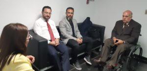 Socialización del proyecto con el Ministro Javier Torres
