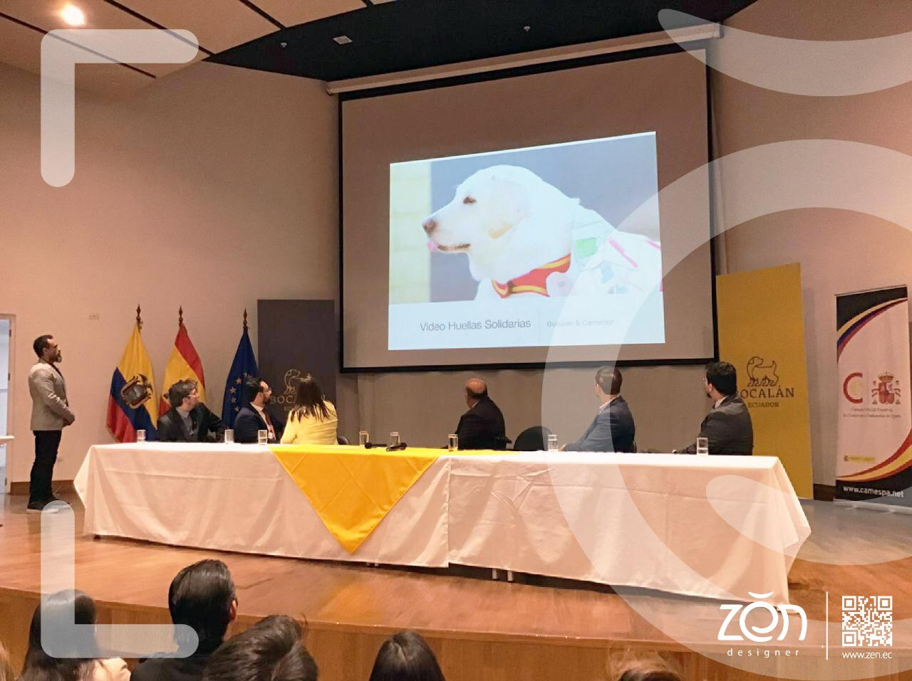 Recuerdos de la presentación en Quito
